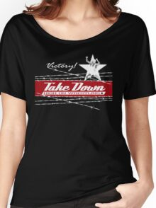 victory takedown Women's Relaxed Fit T-Shirt