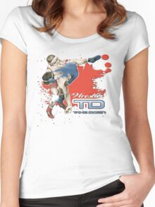 throw down Women's Fitted Scoop T-Shirt