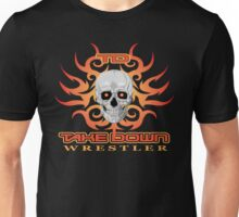 skull flame tatoo Unisex T-Shirt