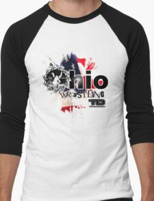 ohio wrestler Men's Baseball ¾ T-Shirt