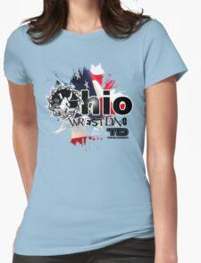 ohio wrestler Womens Fitted T-Shirt