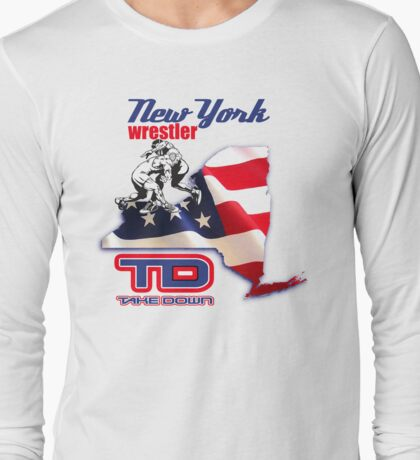 new york wrestler Long Sleeve T-Shirt