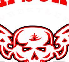 high school wrestler Sticker