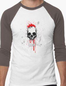 flying skull Men's Baseball ¾ T-Shirt