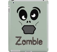 Zombie by 'Chillee Wilson' iPad Case/Skin