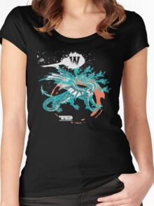 seven dragons Women's Fitted Scoop T-Shirt