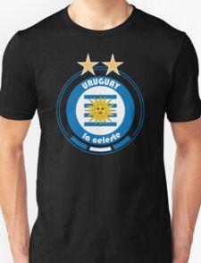 World Cup Football 4/8 - Team Uruguay Unisex T-Shirt