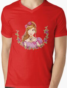 Lolita Rose Mens V-Neck T-Shirt