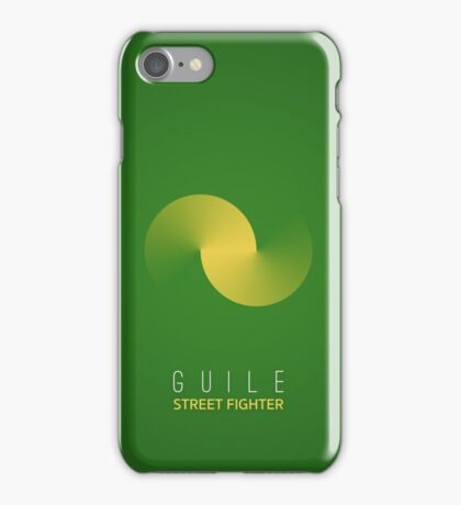 Street Fighter - Guile iPhone Case/Skin