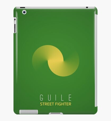 Street Fighter - Guile iPad Case/Skin