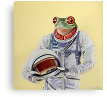 Frog Mission Canvas Print