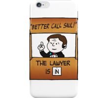 Better Call Saul Lawyer iPhone Case/Skin
