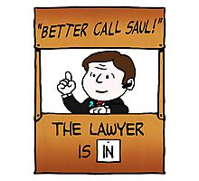 Better Call Saul Lawyer Photographic Print