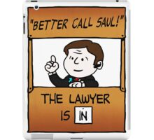 Better Call Saul Lawyer iPad Case/Skin