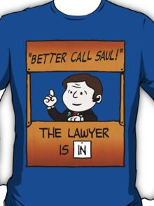 Better Call Saul Lawyer T-Shirt