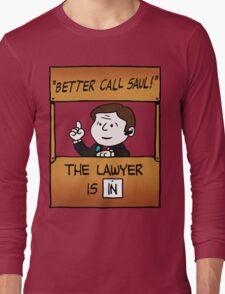 Better Call Saul Lawyer Long Sleeve T-Shirt