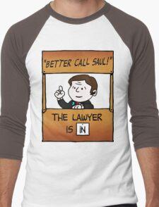 Better Call Saul Lawyer Men's Baseball ¾ T-Shirt