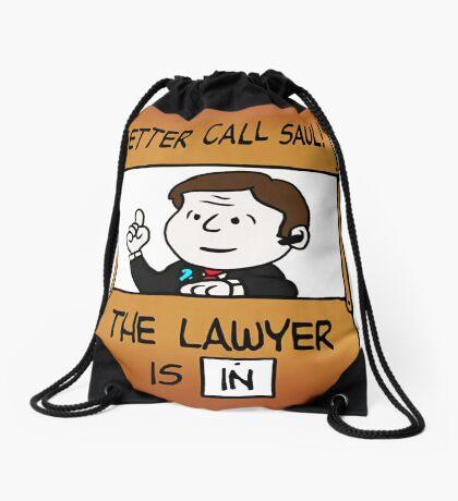 Better Call Saul Lawyer Drawstring Bag