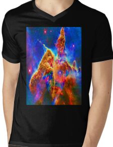Cosmic Mind Mens V-Neck T-Shirt