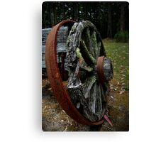 Mossy Wagon Wheel,Otway Ranges Canvas Print
