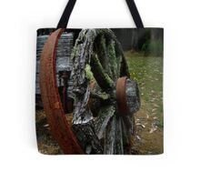 Mossy Wagon Wheel,Otway Ranges Tote Bag