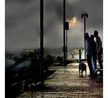 Storm Watchers Photographic Print