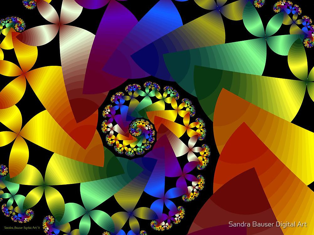 Spring Bouquet by Sandra Bauser Digital Art