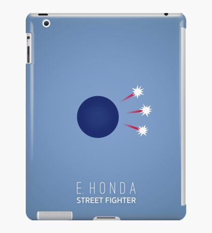 Street Fighter - E. Honda iPad Case/Skin