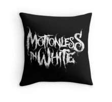 Motionless in White Throw Pillow