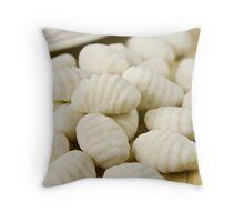 Raw gnocchi Throw Pillow