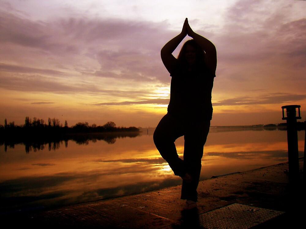 Sunrise Yoga by atoth