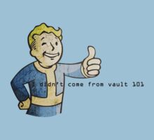 'I didn't come from vault 101' - Fallout by PinkiexDash