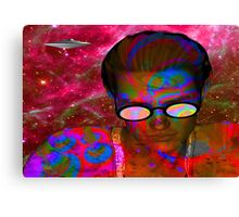 Alien Abduction Canvas Print