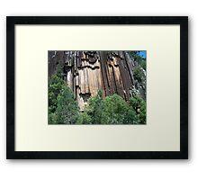 Sawn Rocks (Mt Kaputar National Park, Northwest NSW) Framed Print