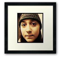 Hannah.  Framed Print