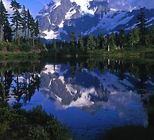 Mt. Shuksan #2 by Mike Norton