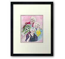 Golden Girls Transform Framed Print
