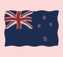 New Zealand flag Kids Clothes