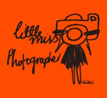 Little Miss Photographer Kids Clothes