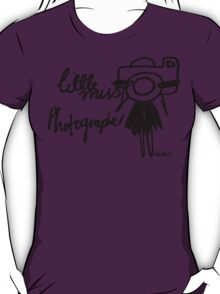 Little Miss Photographer T-Shirt