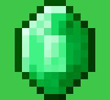Emeraude Minecraft by ralarara