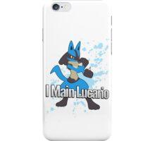 I Main Lucario - Super Smash Bros. iPhone Case/Skin