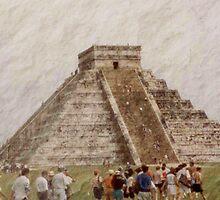 Chichen Itza Pyramid by leystan