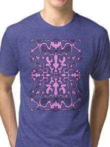 Fancy Pink design Tri-blend T-Shirt