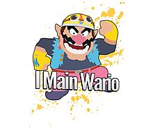 I Main Wario - Super Smash Bros. Photographic Print
