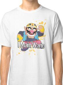 I Main Wario - Super Smash Bros. Classic T-Shirt