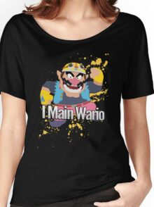 I Main Wario - Super Smash Bros. Women's Relaxed Fit T-Shirt