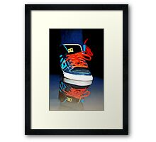 ✾◕‿◕✾ SNEAKERS REFLECTION PICTURE -PILLOWS-TOTE BAG,CARD,DRAWSTRING BAG,SPIRAL BOOK ECT. ✾◕‿◕✾ Framed Print