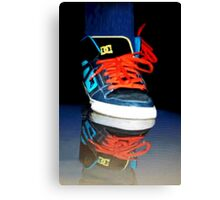 ✾◕‿◕✾ SNEAKERS REFLECTION PICTURE -PILLOWS-TOTE BAG,CARD,DRAWSTRING BAG,SPIRAL BOOK ECT. ✾◕‿◕✾ Canvas Print
