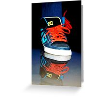 ✾◕‿◕✾ SNEAKERS REFLECTION PICTURE -PILLOWS-TOTE BAG,CARD,DRAWSTRING BAG,SPIRAL BOOK ECT. ✾◕‿◕✾ Greeting Card